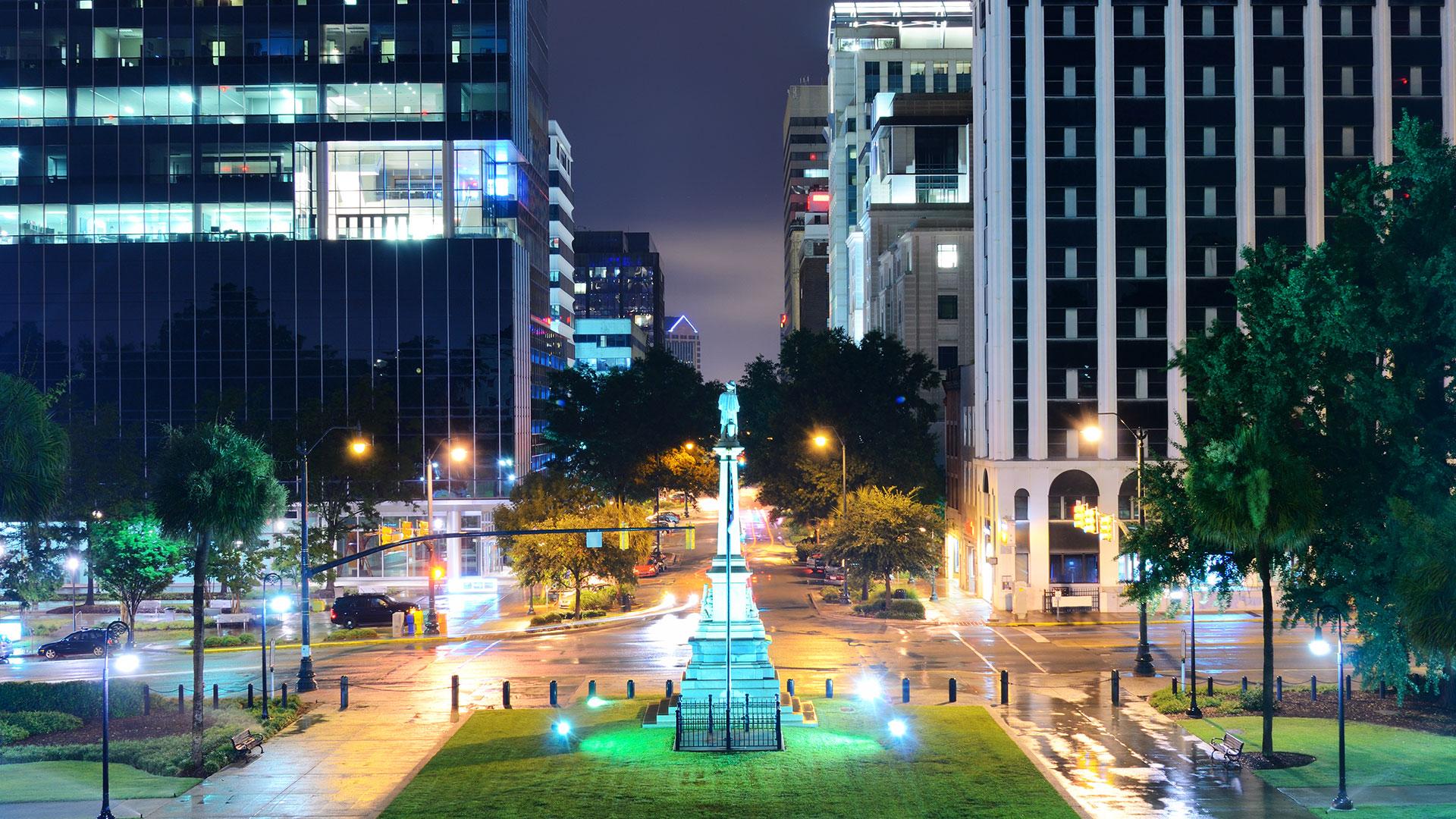 downtown-columbia-night